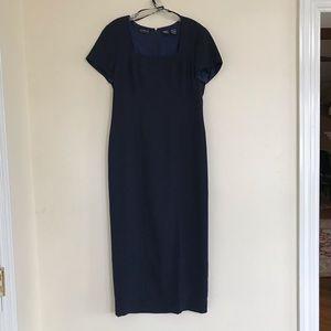 Liz Claiborne Navy sheath dress size 8